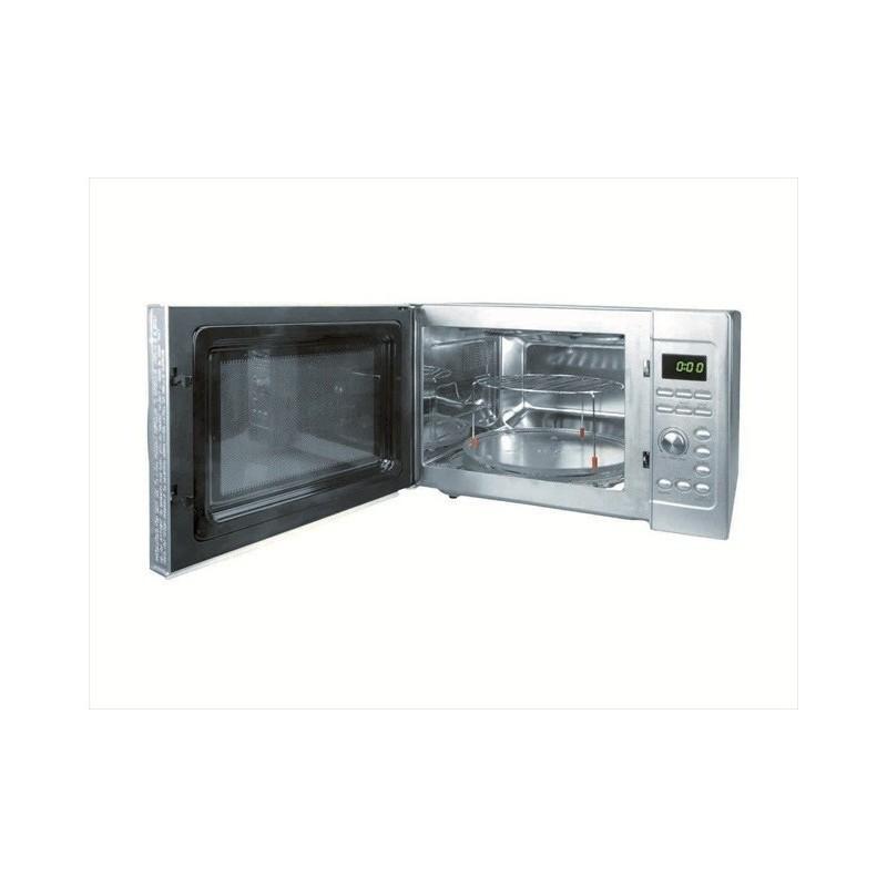 Horno microondas con plato giratorio y grill de 30 lts lacor - Horno microondas pequeno ...