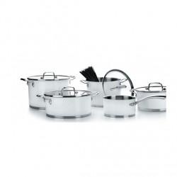 Batería de cocina de 5 piezas modelo white de Lacor