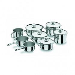 Batería de Cocina 8 Piezas Vitrocor de Lacor