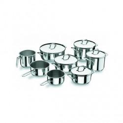 Batería de Cocina 8 Piezas Gourmet de Lacor