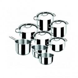 Batería de Cocina 8 Piezas Basic de Lacor