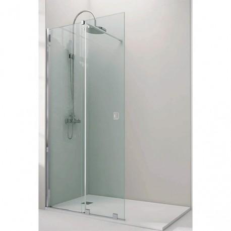 Mampara fija de ducha line abatible varobath - Mamparas abatibles para ducha ...