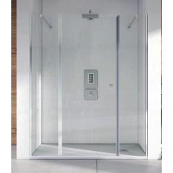 Mampara ducha Frontal 2 Fijos y 2 Puertas NEWCARGLASS Open
