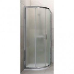 Mampara de ducha semicircular Tempo box Varobath.