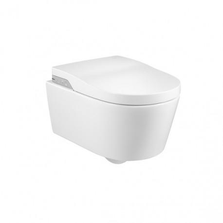 Inodoro in wash inspira smart toilet roca suspendido for Inodoro suspendido roca