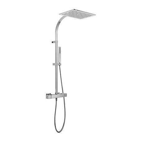 Conjunto ducha termostática Slim-Tres.