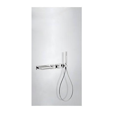 Kit bañera termostático empotrado Slim-Tres.