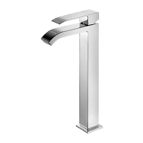 Monomando lavabo alto con caño cascada Cuadro-Tres.
