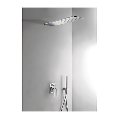 Kit ducha monomando empotrado Cuadro-Tres.