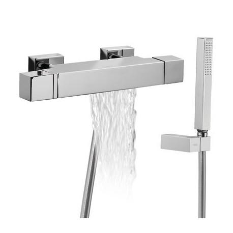 Termostática bañera Cuadro-Tres.