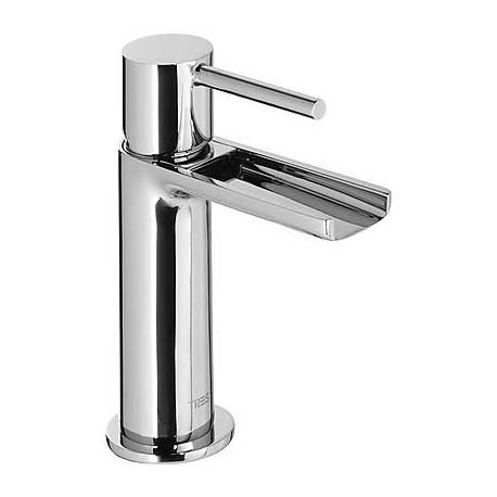 Monomando lavabo caño cascada libre Max-Tres.