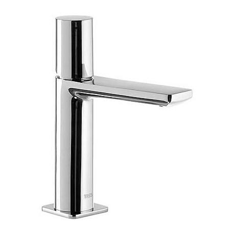 Monomando lavabo caño cascada Loft-Tres.