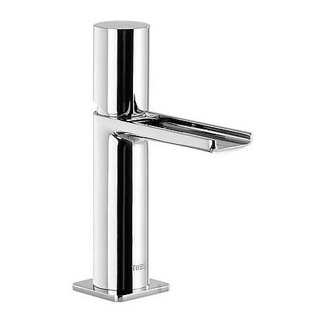Monomando lavabo caño cascada libre Loft-Tres.