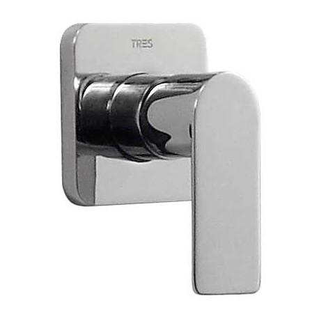 Monomando empotrar ducha Loft-Tres.