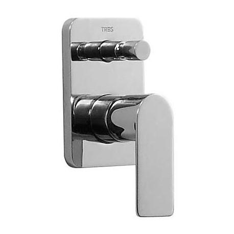Monomando empotrar bañera Loft-Tres.