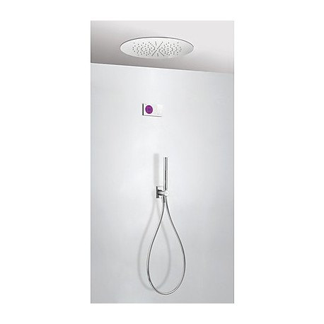 Kit electrónico ducha termostático empotrado Class-Tres.