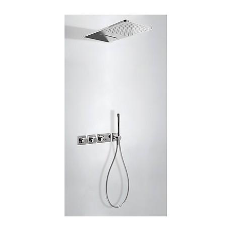 Kit ducha termostático empotrado Tres.