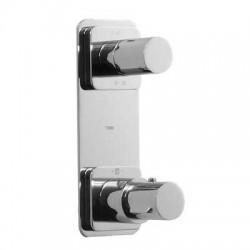 Termostática empotrar 2 vías TRES BLOCK-SYSTEM® Loft-Tres.