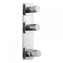 Termostática empotrar 3 vías TRES BLOCK-SYSTEM® Loft-Tres.