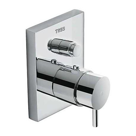 Termostática empotrar bañera TRES BLOCK-SYSTEM® (COMPACT).