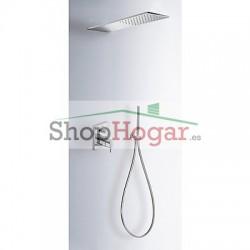 Kit de ducha termostático empotrado TRES BLOCK-SYSTEM®.