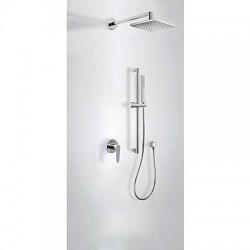Kit ducha monomando empotrado Class-Tres.
