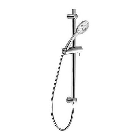 Kit barra ducha 565 mm con toma pared Tres Grifería.