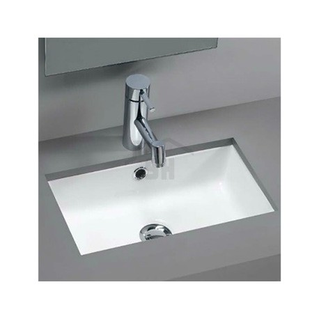 lavabo bajo encimera mini agres unisan 44 x 26 cm