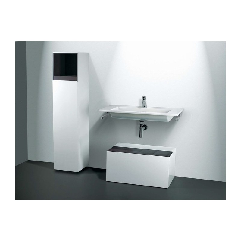 lavabo encimera o mural unisan palm 100 100 x 50 cm. Black Bedroom Furniture Sets. Home Design Ideas