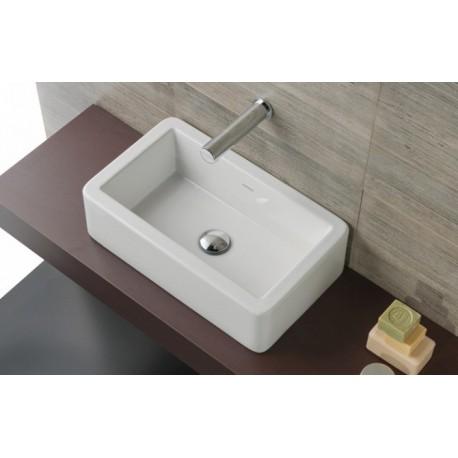 Lavabo sobre encimera doble beautiful doble lavabo de corian tennesse with lavabo sobre - Lavabo sobre encimera leroy merlin ...