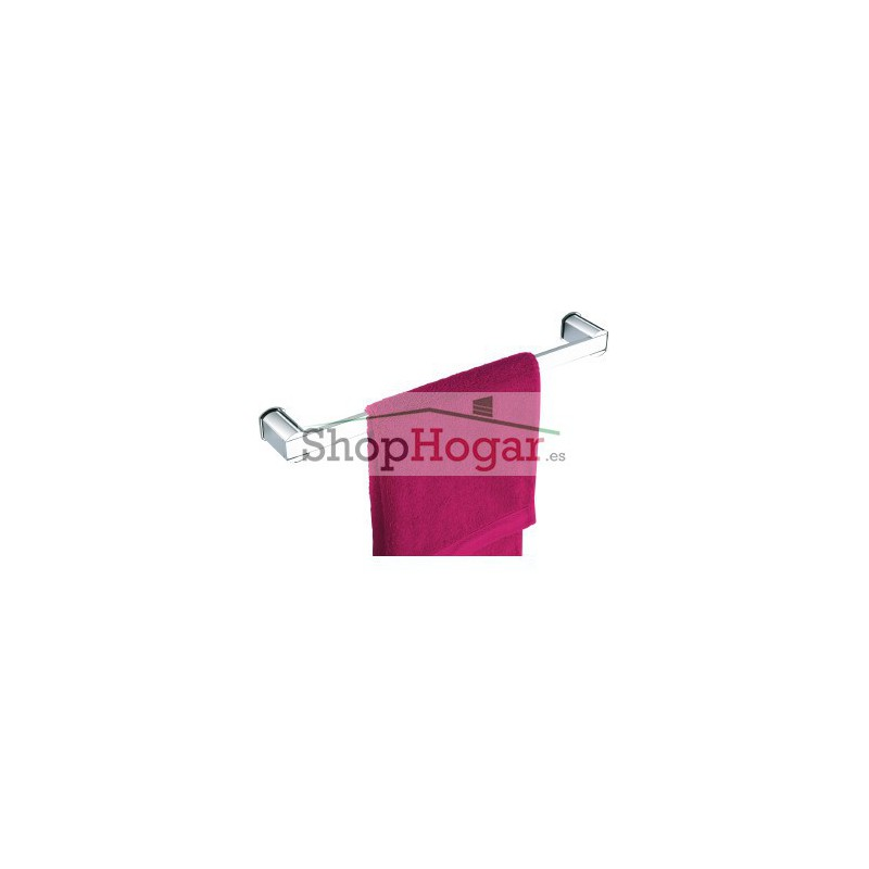 Toallero barra ba o dise o 40 4 cm pop for Toalleros de bano sin taladro