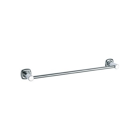 Toallero barra Baño Diseño 60 cm Dual.