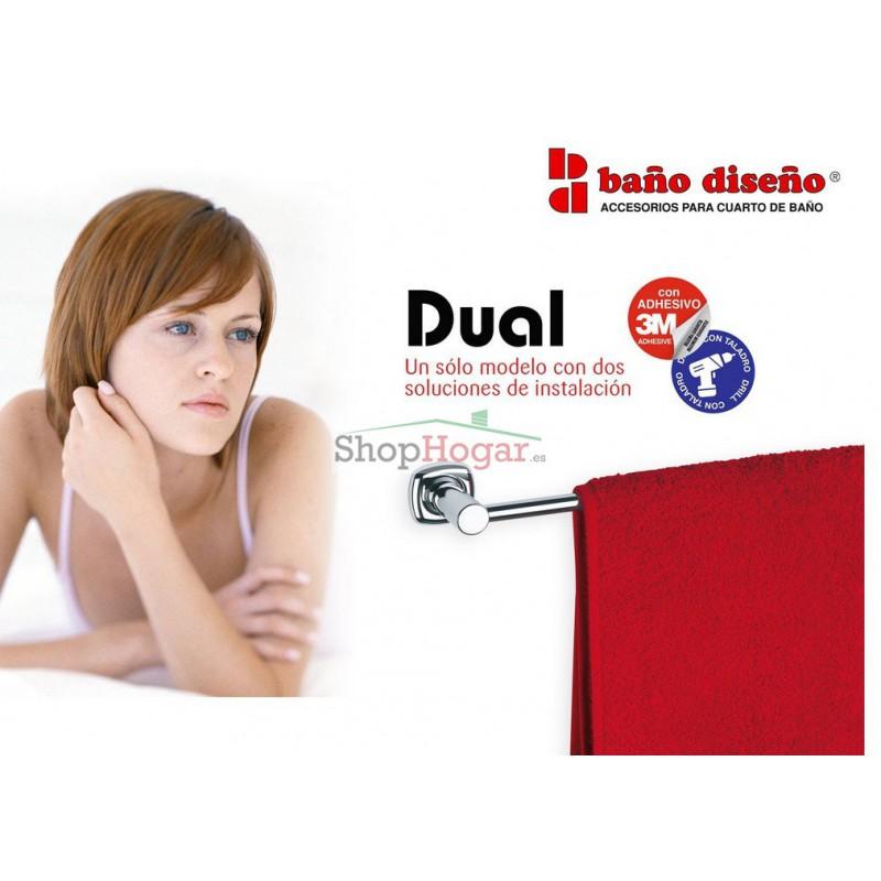 Dosificador jab n pared ba o dise o dual for Dosificador jabon bano