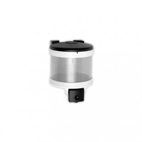 Dispensador de jabón 2 litros pulsador ABS Timblau.