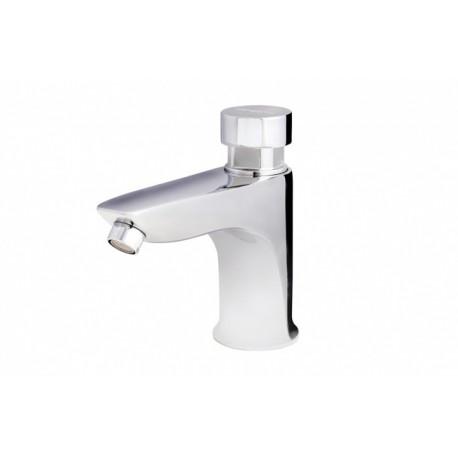 Grifo temporizado ecológico lavabo agua fría serie Presto Eco XT-L.