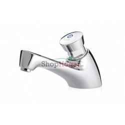 Grifo temporizado ecológico lavabo agua Caliente Presto 605 ECO.