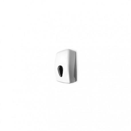 Dispensador toallitas Zig-Zag en ABS acabado blanco Timblau.