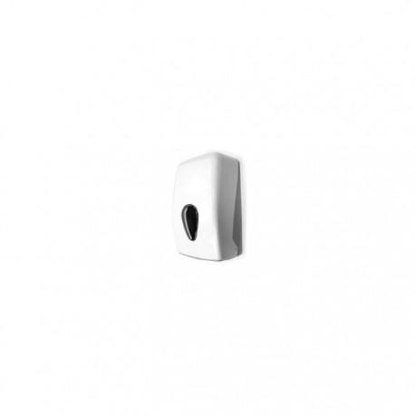 Dispensador de papel bobina en ABS acabado blanco Timblau.