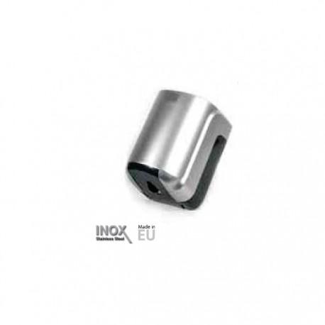 Dispensador de papel mecha en ABS acabado gris metalizado Timblau.