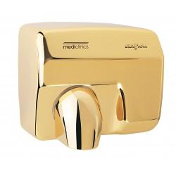 Secamanos dorado accionamiento automático Saniflow® de Mediclinics.