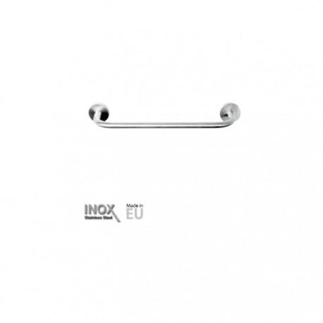 Toallero inox satinado de lavabo 45 cm Timblau.