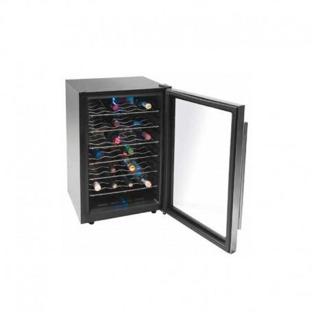 Bodega armario refrigerador Lacor para vino Inox Line.