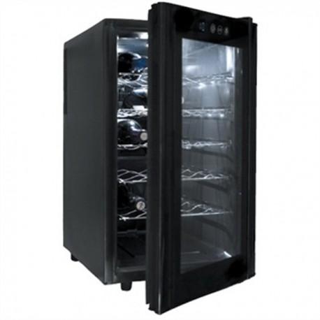 Bodega armario refrigerador Lacor para vino Black Line.
