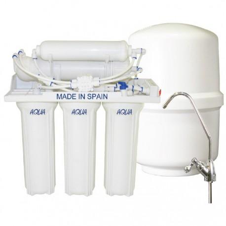 Osmosis inversa 5 etapas Aqua Plus Rodriguez Calderón.