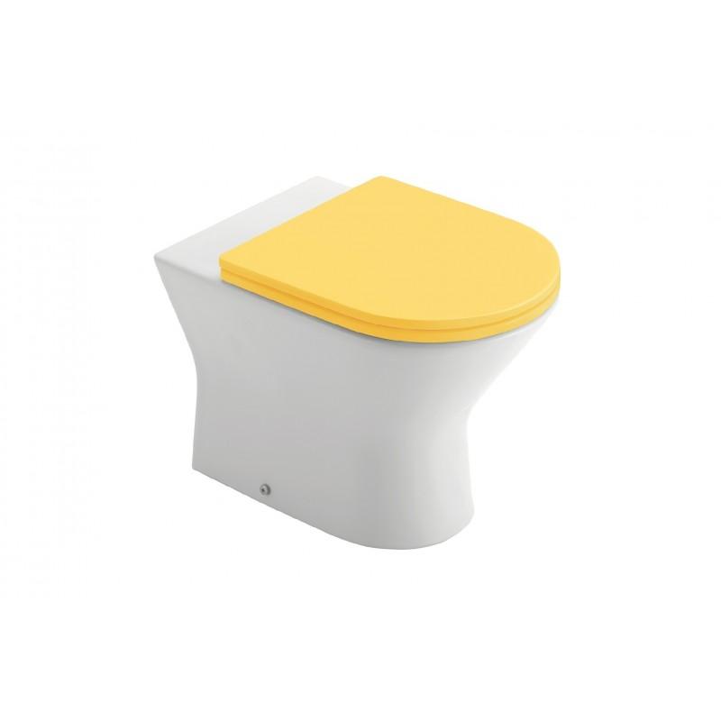 Inodoro tanque alto asiento fijo modelo baby - Inodoro tanque alto ...