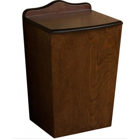 Papelera 4 litros Gedy madera Montana.
