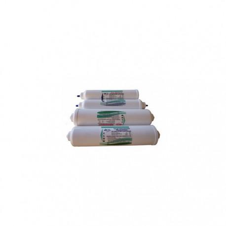 Kit de cartuchos para recambio de las ósmosis inversa doméstica Sailboat Ath.