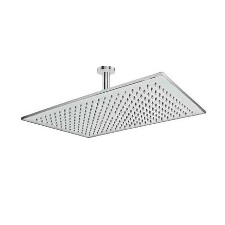 Rociador 45x31 5 cm con brazo de ducha a techo tres for Rociadores ducha empotrados techo
