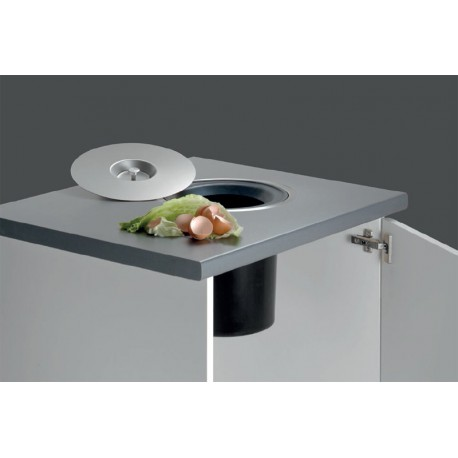 Cubo de empotrar Waste Cucine Oggi.