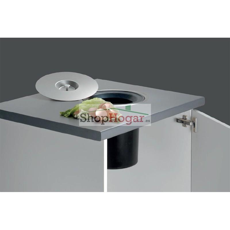 Cubo de empotrar waste cucine oggi for Cubo basura cocina